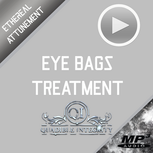 ★ EYE BAGS TREATMENT - BLEPHAROPLASTY - ELIMINATE PUFFY EYES - DARK CIRCLES ★  (SUBLIMINALS FREQUENCIES) ATTUNED AUDIO - SPIRILUTION.COM