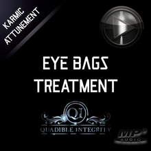 Load image into Gallery viewer, ★ EYE BAGS TREATMENT - BLEPHAROPLASTY - ELIMINATE PUFFY EYES - DARK CIRCLES ★  (SUBLIMINALS FREQUENCIES) ATTUNED AUDIO - SPIRILUTION.COM