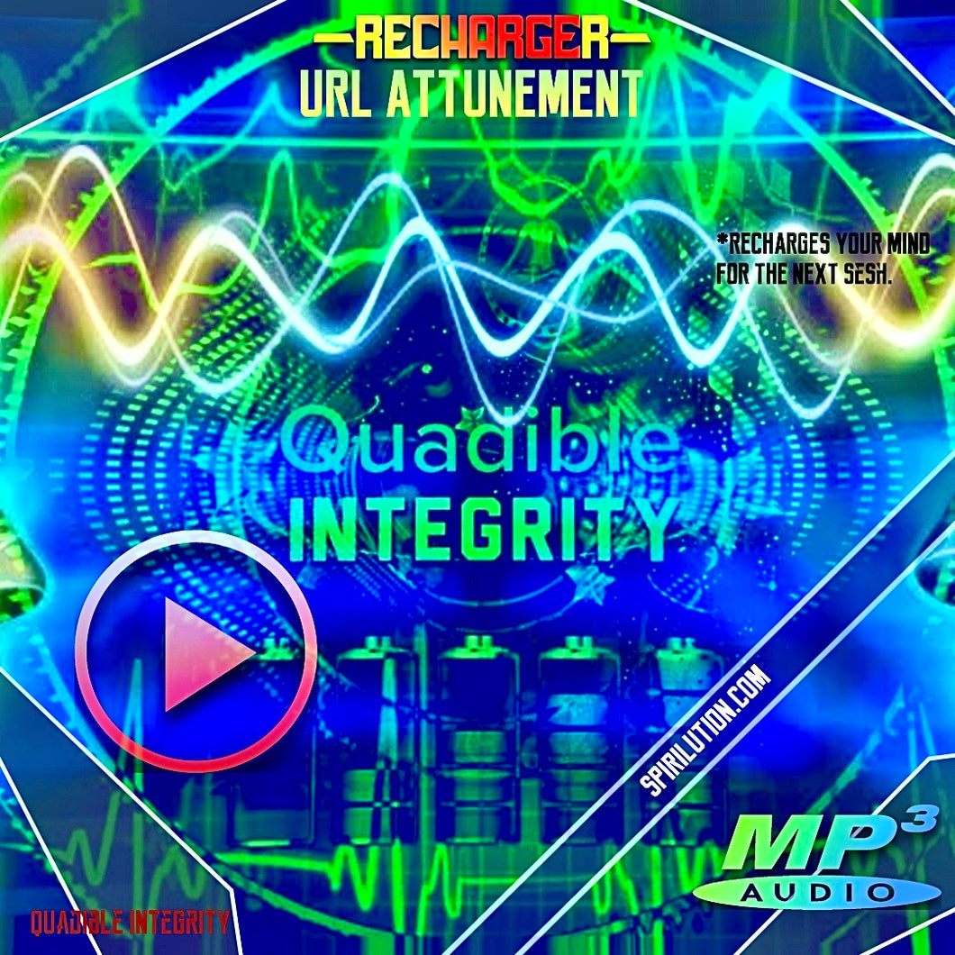 ★FREQUENCY BREAK - RECHARGER★ QUADIBLE INTEGRITY