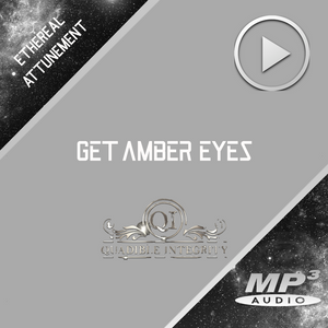 GET AMBER EYES FAST!★ CHANGE YOUR EYE COLOR TO AMBER (BIOKINESIS SUBLIMINAL BINAURAL BEATS) QUADIBLE INTEGRITY - SPIRILUTION.COM