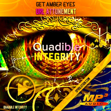 Load image into Gallery viewer, GET AMBER EYES FAST!★ CHANGE YOUR EYE COLOR TO AMBER (BIOKINESIS SUBLIMINAL BINAURAL BEATS) QUADIBLE INTEGRITY - SPIRILUTION.COM