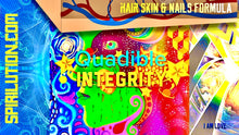 Load image into Gallery viewer, HAIR SKIN AND NAILS FORMULA (Subliminals Brainwave Entrainment Vibration Energy Frequencies) - QUADIBLE INTEGRITY - SPIRILUTION.COM