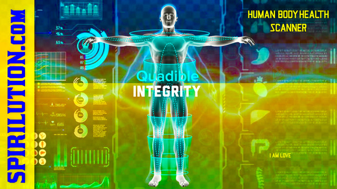 ★HUMAN BODY HEALTH SCANNER & HEALER! RAISE YOUR BODIES VIBRATION! QUADIBLE INTEGRITY★ - SPIRILUTION.COM