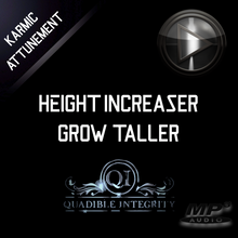 Load image into Gallery viewer, ★ HEIGHT INCREASING FORMULA★ GROW TALLER (SUBLIMINAL BRAINWAVE ENTRAINMENT BINAURAL BEATS) - SPIRILUTION.COM