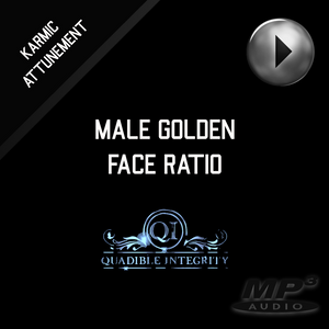 MALE GOLDEN FACE RATIO - FACIAL SYMMETRY FORMULA ★SUBLIMINAL BINAURAL BEATS MEDITATION