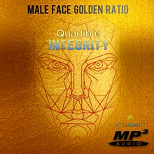 Load image into Gallery viewer, MALE GOLDEN FACE RATIO - FACIAL SYMMETRY FORMULA ★SUBLIMINAL BINAURAL BEATS MEDITATION
