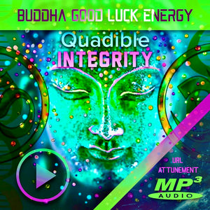 ★POWERFUL BUDDHA GOOD LUCK ENERGY MEDITATION★ QUADIBLE INTEGRITY - SPIRILUTION.COM