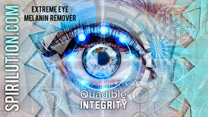 ★QUADIBLE INTEGRITY - EXTREME EYE MELANIN REMOVER! SUBLIMINAL FREQUENCY DOWNLOAD!