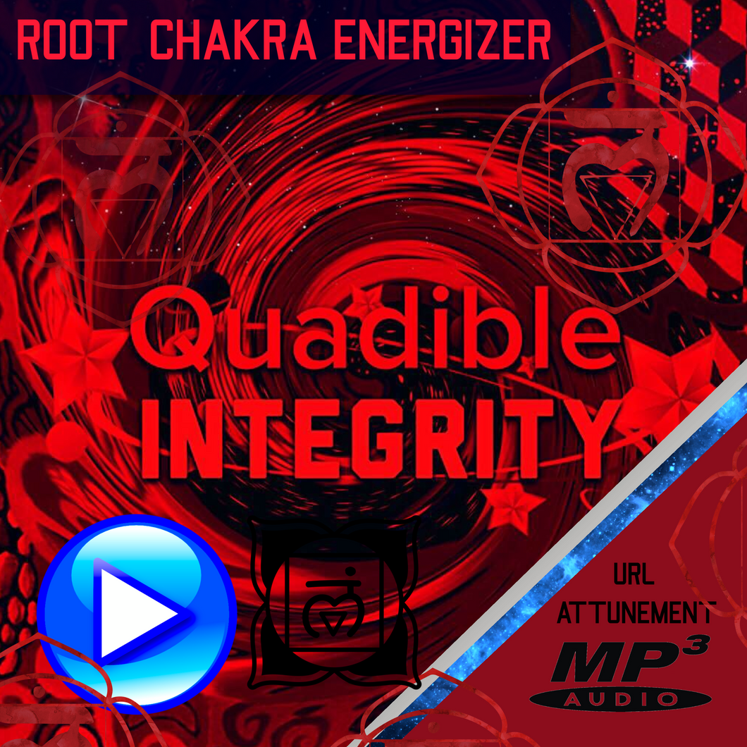 QUADIBLE INTEGRITY ★ POWERFUL ROOT CHAKRA MULADHARA HEALING-BALANCING-ENERGIZING FORMULA★ - SPIRILUTION.COM