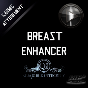 QUADIBLE INTEGRITY ★ BREAST ENHANCER & TONER ★  ATTUNED AUDIO - SPIRILUTION.COM