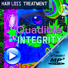 Load image into Gallery viewer, QUADIBLE INTEGRITY ★ HAIR LOSS TREATMENT FOR MEN & WOMEN★ (SUBLIMINAL BINAURAL BEATS FREQUENCY)  ATTUNED AUDIO - SPIRILUTION.COM