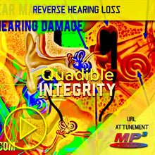 Load image into Gallery viewer, ★REVERSE HEARING LOSS! ASMR 3DIO EAR MASSAGE! EAR DRUM DAMAGE REVERSING *IMPROVE HEARING* FORMULA★ QUADIBLE INTEGRITY - SPIRILUTION.COM