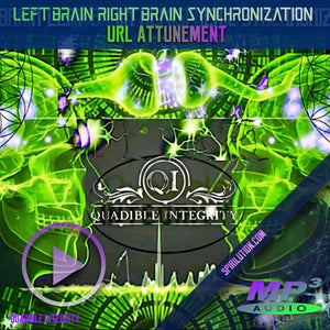 ★LEFT BRAIN / RIGHT BRAIN HEMISPHERIC SYNCHRONIZATION FORMULA★ QUADIBLE INTEGRITY - SPIRILUTION.COM