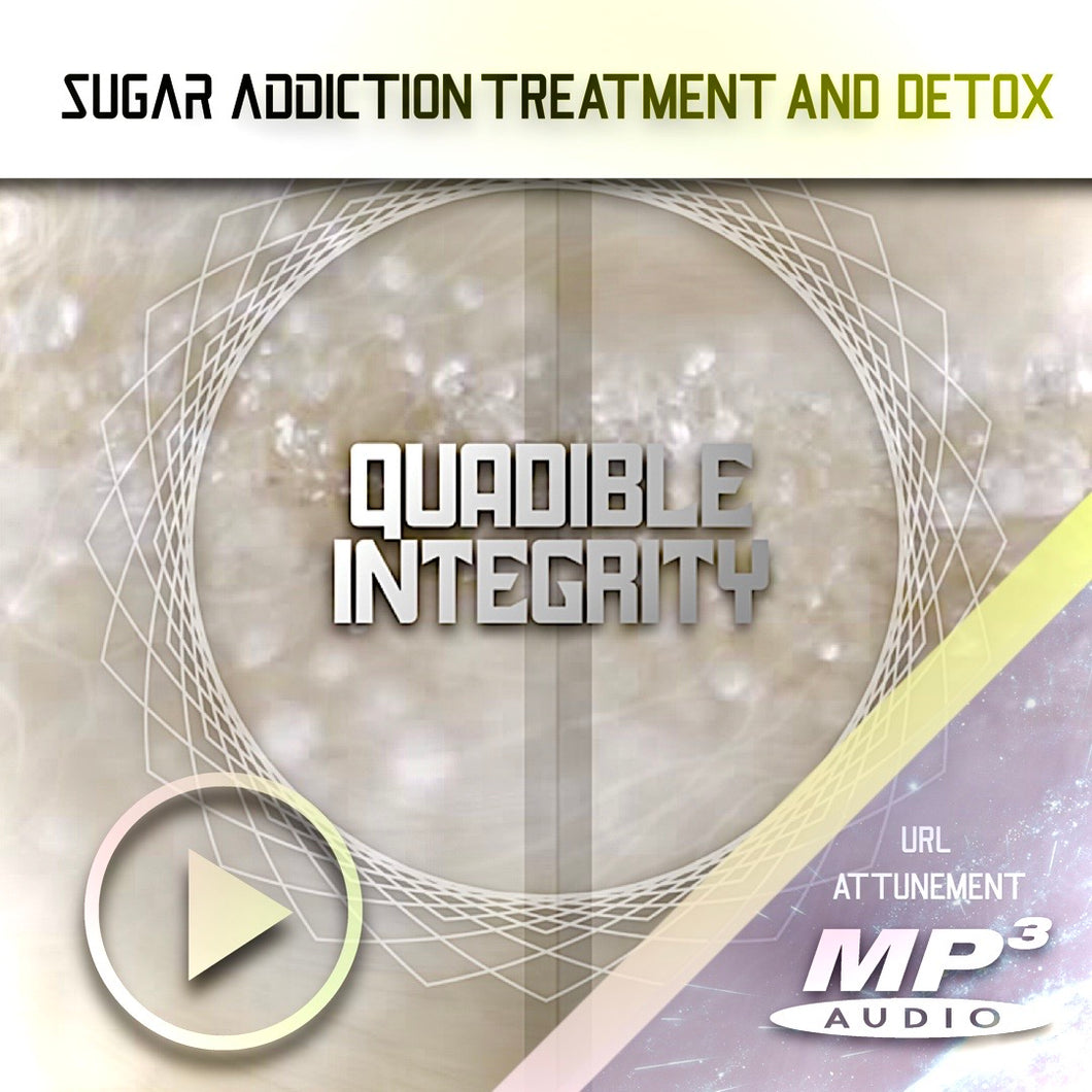 SUGAR ADDICTION TREATMENT & DETOX FORMULA! ★STOP SUGAR CRAVINGS! VERY POWERFUL! QUADIBLE INTEGRITY