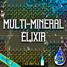 Load image into Gallery viewer, SUPER MULTI-MINERALS ELIXIR (Free Shipping) - SPIRILUTION.COM