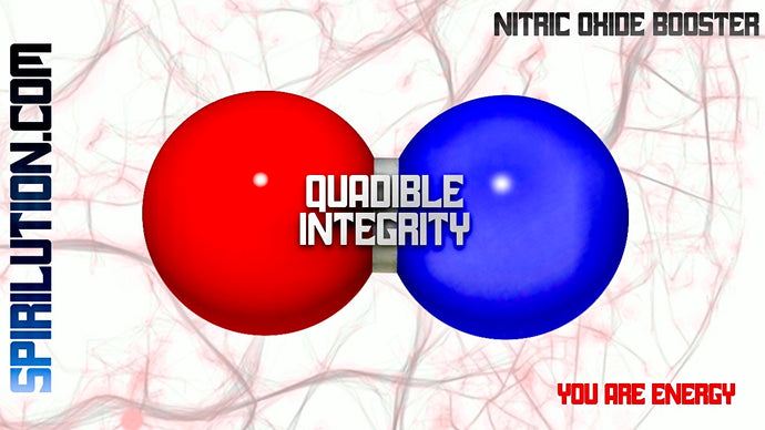 SUPER NITRIC OXIDE BOOSTER!★ FEEL THE POWER! QUADIBLE INTEGRITY - SPIRILUTION.COM