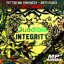 Cargar imagen en el visor de la galería, ★TATTOO INK ENHANCING - ANTI FADING METAL DETOXING FREQUENCY FORMULA★ QUADIBLE INTEGRITY - SPIRILUTION.COM