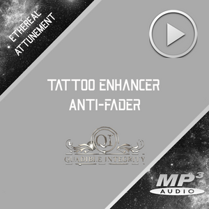 ★TATTOO INK ENHANCING - ANTI FADING METAL DETOXING FREQUENCY FORMULA★ QUADIBLE INTEGRITY - SPIRILUTION.COM