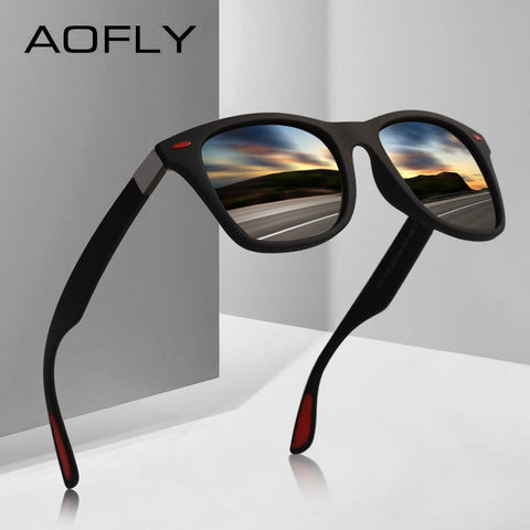 AOFLY BRAND DESIGN Classic Polarized Sunglasses Men Women Driving
