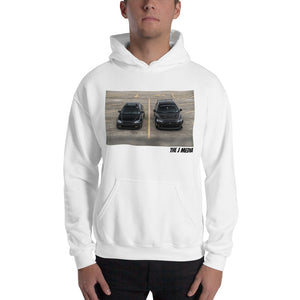 Battle of Black Cars Hooded Sweatshirt