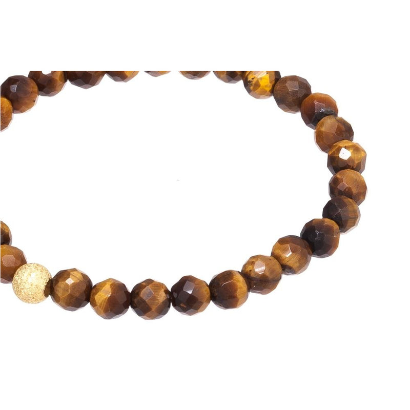 Gemstone Bracelet - Yellow Tigers Eye