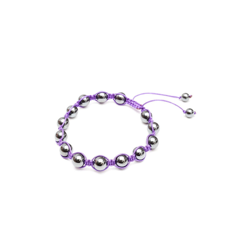 Orbit Purple Slide Bracelet