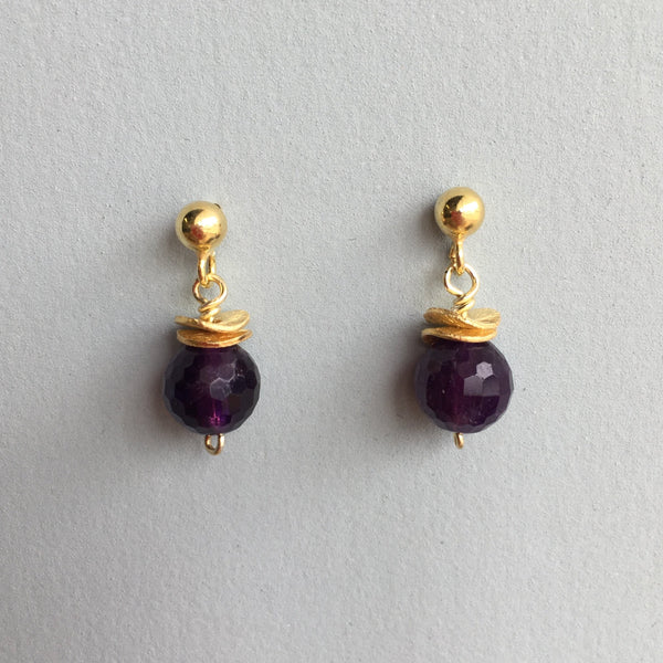 Amethyst Earrings Joanna Salmond Jewellery