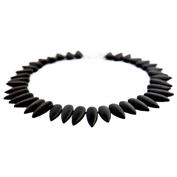 Onyx Black Statement Choker