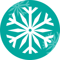 Image of snowflake representing freeze drying