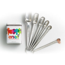 Load image into Gallery viewer, Canister of ENOF with measuring spoons and a small amount of ENOF powder