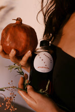 Load image into Gallery viewer, 16 Oz Holiday Pomegrante X Blood Orange Abhyanga Body Oil