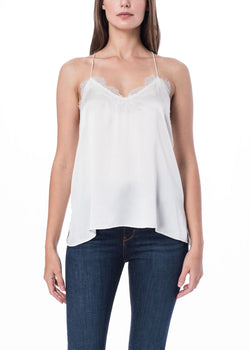 The Racer Silk Cami
