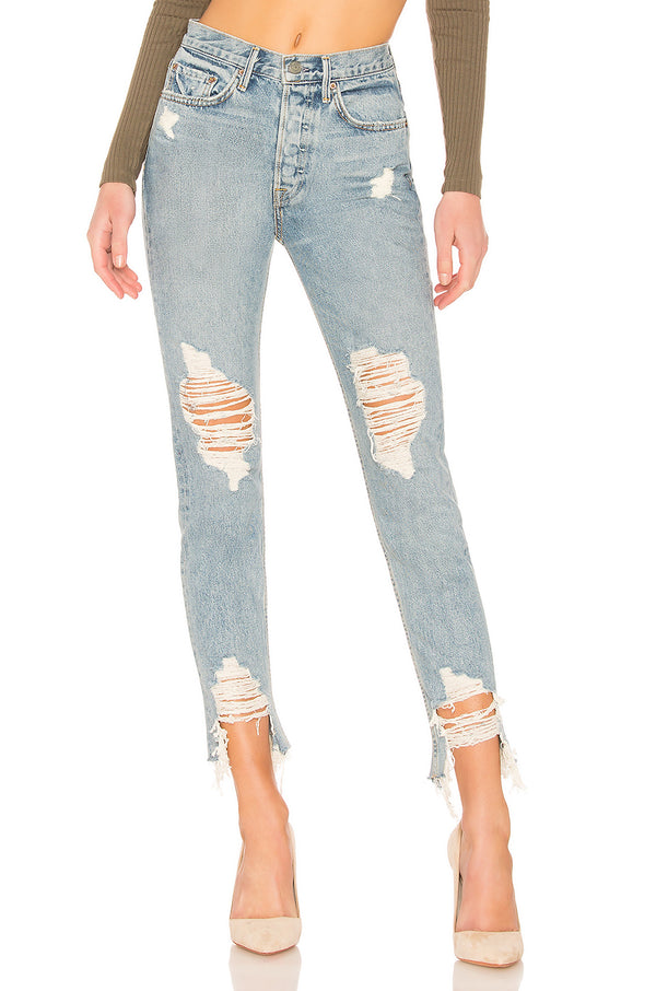 The Karolina Crop High-Rise Skinny Jean