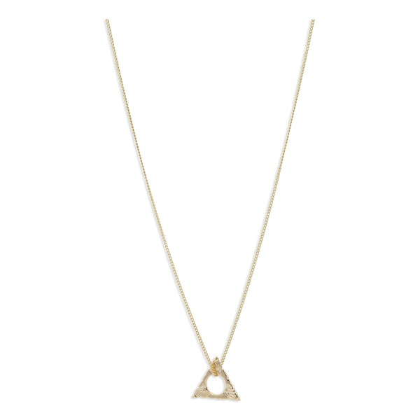 Sigyn Gold Triangle Necklace