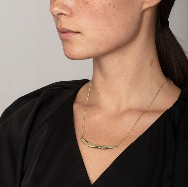 Sigyn Gold Raw Necklace