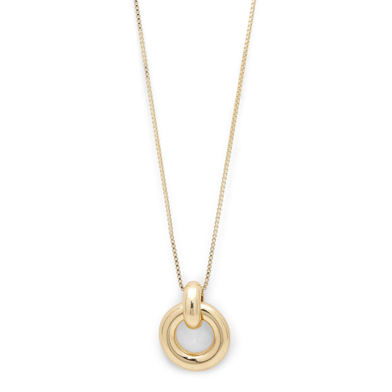 Aya Gold Plated Necklace