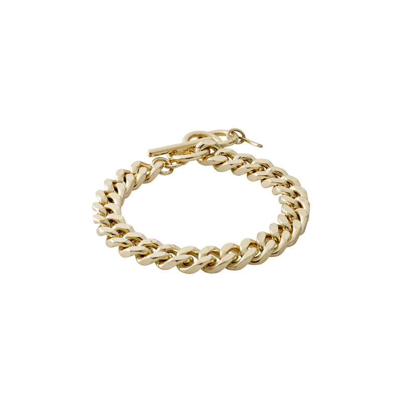 Gold Chain Bracelet : Water Element
