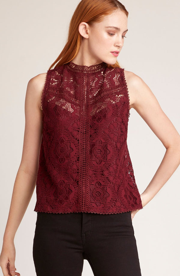 Play Nice Lace Top