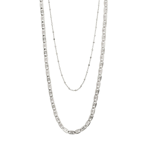 Silver 2-in-1 Intuition Necklace