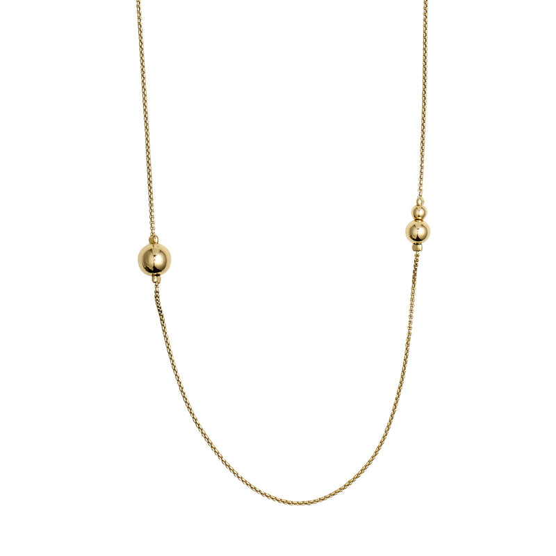 Gold Necklace 90cm : Earth