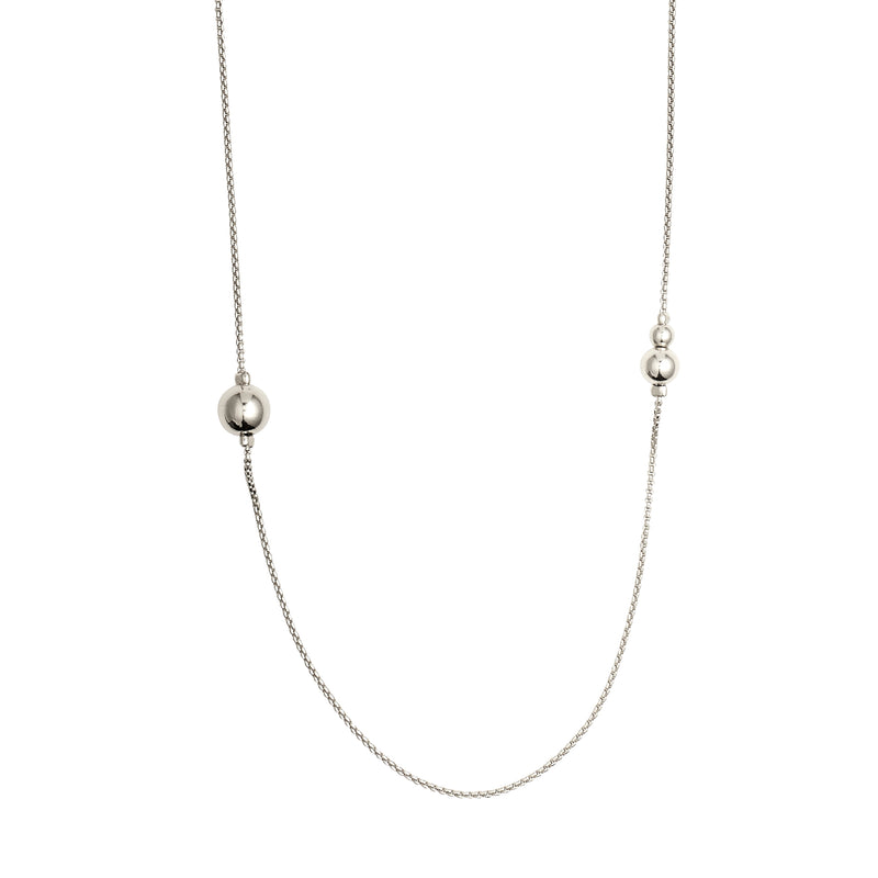 Silver Necklace 90cm : Earth