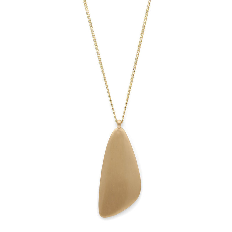 Djuna Gold Plated Long Necklace