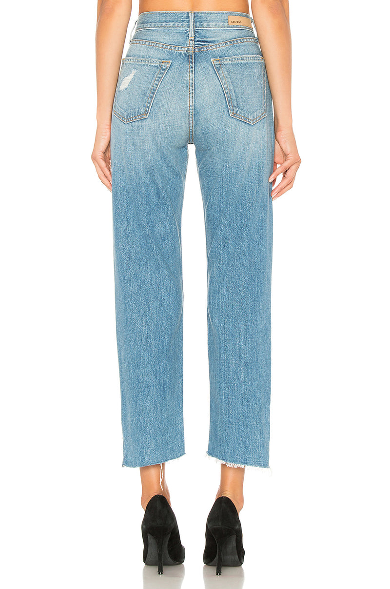 The Helena High-Rise Crop Jean