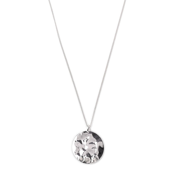 Rumi Silver Plated Necklace
