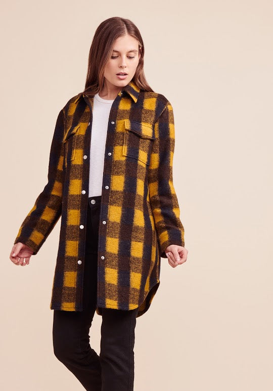 Plaid Company Jacket
