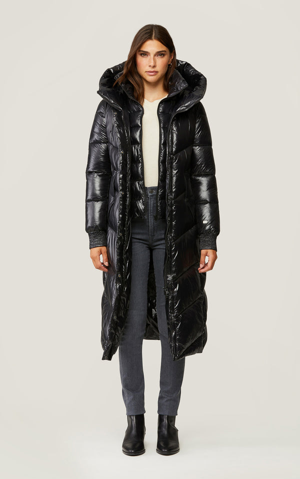 Danica Calf-Length Eco Puffer Coat
