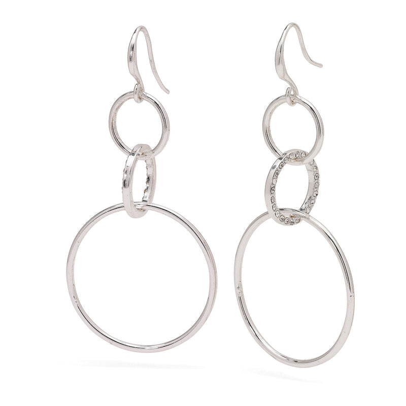 Akira Silver Plated Earrings