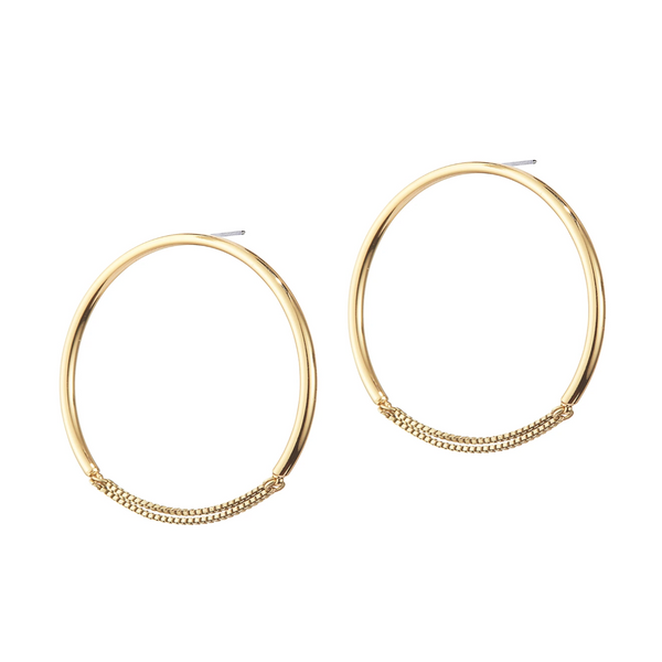 Sadie Hoops - Medium