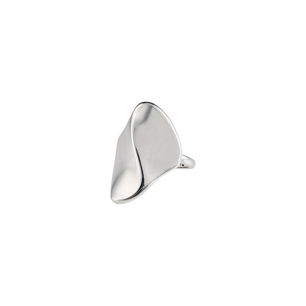 Wisdom Silver Wave Ring