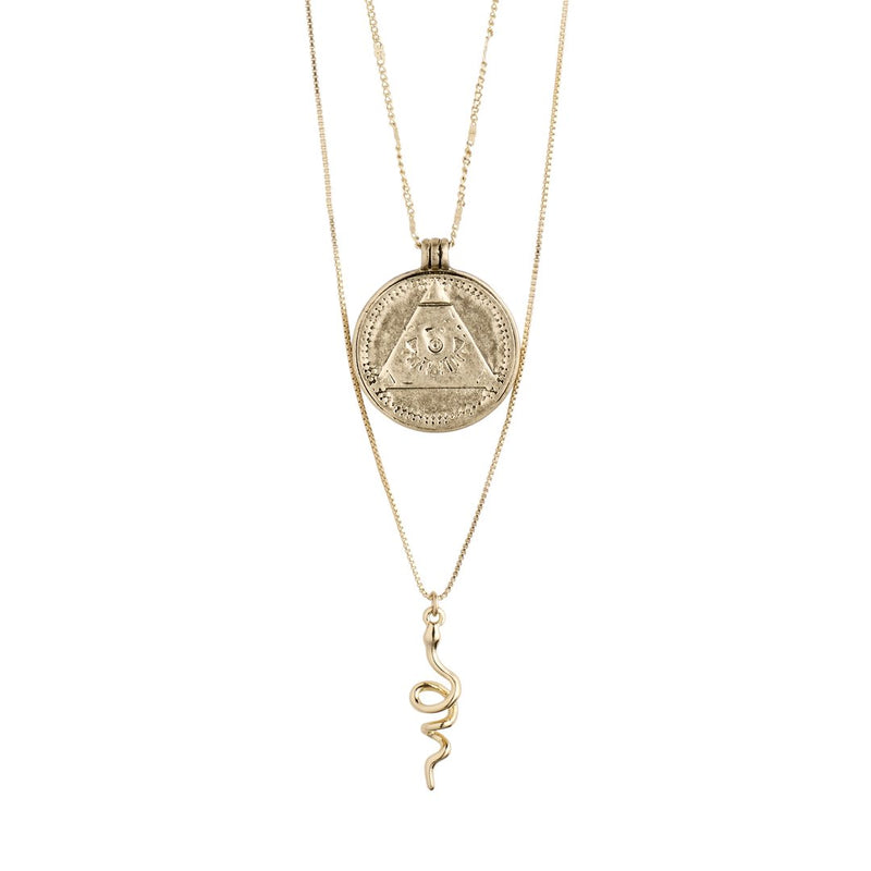Gold Sensitivity 2-in-1 Necklace
